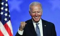 Líderes europeos felicitan a Joe Biden por su victoria final en las presidenciales de Estados Unidos