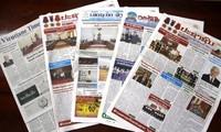 Prensa laosiana valora los preparativos del XIII Congreso Nacional del PCV