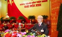 Dirigente político vietnamita continúa recibiendo felicitaciones de líderes internacionales