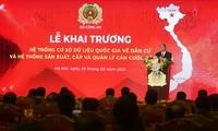 Vietnam inaugura el sistema de bases de datos nacional sobre población