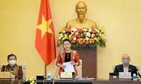 Realizarán la sesión número 54 del Comité Permanente del Parlamento de Vietnam para considerar asuntos del personal