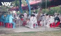 Cientos de ciudadanos repatriados desde Japón puestos en cuarentena en Binh Dinh
