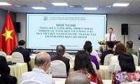 Ciudad Ho Chi Minh por mejorar la eficiencia del trabajo sobre los vietnamitas en el extranjero