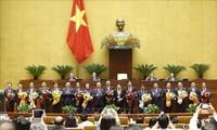 Nuevos dirigentes vietnamitas continúan recibiendo cartas de felicitación