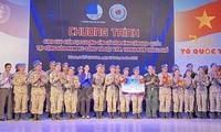 Celebran un intercambio entre personal de mantenimiento de la paz vietnamita y jóvenes de Ciudad Ho Chi Minh