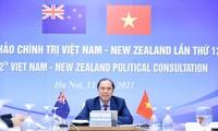 Celebran XII Consulta Política Vietnam-Nueva Zelanda en formato digital