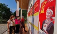 Localidades vietnamitas listas para el día de las elecciones legislativas y municipales anticipadas