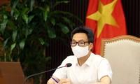 Vicepremier de Vietnam insta a no descuidar la situación pandémica en las localidades