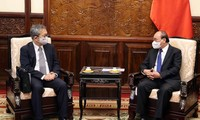 Presidente de Vietnam recibe al embajador japonés