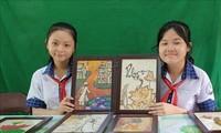 Un proyecto único respetuoso con el medioambiente de dos estudiantes en Can Tho