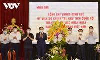 Presidente del Parlamento de Vietnam congratula a medios en el Día de la Prensa Revolucionaria