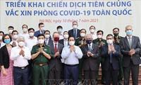 Lanza Vietnam campaña nacional de vacunación anticovid-19