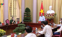 Presidente de Vietnam alaba actividades de apoyo y agradicimiento a soldados y familias de mártires de guerra