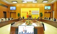 Efectúan primera sesión plenaria del Comité de Relaciones Exteriores del Parlamento vietnamita