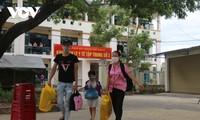 Localidades vietnamitas reciben ciudadanos desde área epidémica
