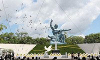 Ciudad japonesa de Nagasaki conmemora 76 aniversario del desastre atómico