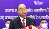 Presidente de Vietnam afirma impulsar relaciones de hermandad especial con Laos