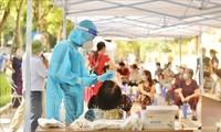 Vuelve a descender el número de contagios en Binh Duong