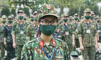 Fuerzas militares aportan recursos humanos al combate contra el coronavirus en el Sur