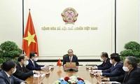 Presidentes de Cuba y Vietnam debaten medidas para promover relaciones bilaterales