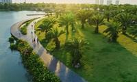 Área urbana verde en Vietnam honrada por periódico de Estados Unidos