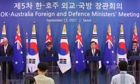 Corea del Sur y Australia reafirman su compromiso con la región del Indo-Pacífico