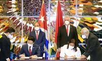Vietnam y Cuba fortalecen cooperación en información y comunicaciones