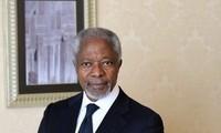 ក្រុមអ្នកជំនាញការដោយបេសក ជនពិសេសនៃអង្គការសហប្រជាជាតិ-សម្ព័ន្ធអារ៉ាប់ Kofi Annan បានទៅកាន់ស៊ីរី 