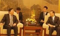 阮青山访问中国