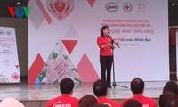 越南红十字会要提出更多人道、慈善倡议