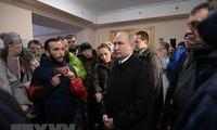 普京宣布28日为全国哀悼日 悼念克麦罗沃火灾遇难者