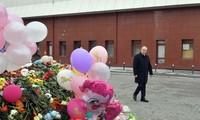 俄罗斯全国哀悼日 悼念克麦罗沃火灾遇难者