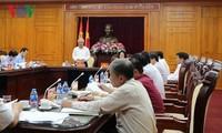 反腐中央指导委员会与谅山省省委常委会座谈