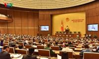 越南国会审议决定人事问题 选举国家主席