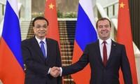 俄罗斯和中国在国际贸易上观点一致