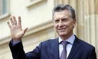 阿根廷总统马克里开始对越南进行国事访问