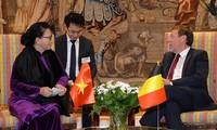 阮氏金银会见比利时联邦议会众议长西格弗里特·布拉克