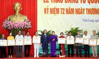 越南党、国家和人民永远铭记荣军烈士