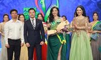 越南电视台选手获得2019年新闻工作者绿色选美大赛第一名