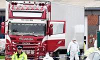 英国货车39人死亡案:越南与英国职能机关配合加紧核实遇难者身份