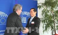 欧洲议会议长萨索利支持推动欧盟与越南全面合作关系