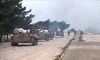叙利亚政府军收复阿勒颇省大部分领土