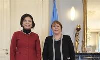 联合国人权事务高级专员高度评价越南在促进和维护人权方面取得的成就