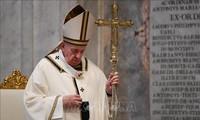 教皇方济各:世界应该团结起来