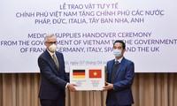 德国外交部肯定越南政府和人民的帮助