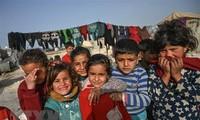 联合国儿童基金会为面临新冠病毒威胁的中东儿童寻求更多援助