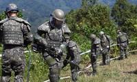 韩国和朝鲜违反停战协定