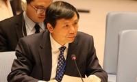 联合国安理会就武装冲突中保护平民问题举行视频公开会