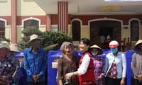 联合国儿童基金会向越南宁顺省遭受旱灾和新冠肺炎疫情影响的弱势人群提供援助