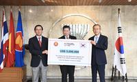 韩国资助东盟各国提高对新冠病毒的发现能力
